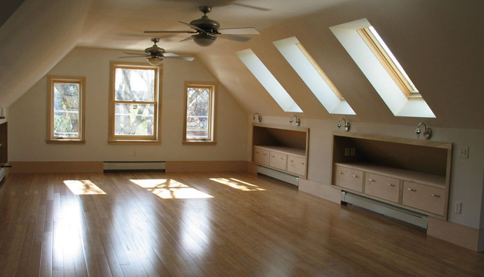 Attic Pictures mill city builders